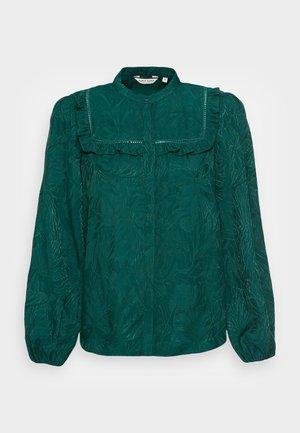 LAPOUSSIERE - Button-down blouse - lapoussiere vert