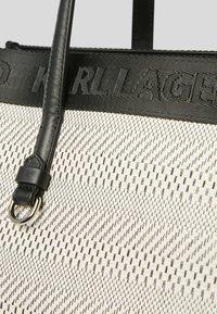 KARL LAGERFELD - Tote bag - black white - 2