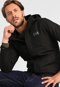 Helly Hansen - DUBLINER JACKET - Regenjas - black - 0