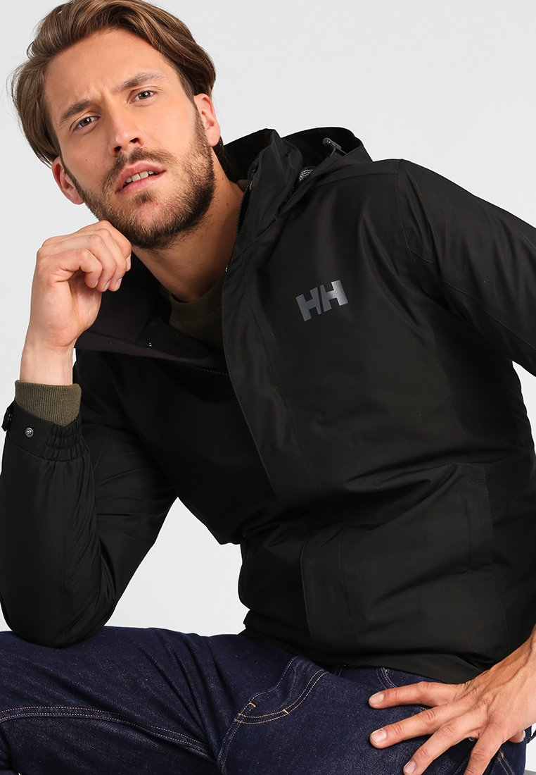Helly Hansen - DUBLINER JACKET - Regenjas - black