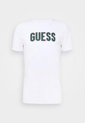 DEAL TEE - T-Shirt print - blanc pur