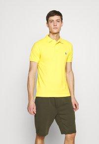Polo Ralph Lauren - SHORT SLEEVE KNIT - Polo - yellow - 0