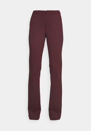 ONLELORA-VIKA SUPER FLARE PANT  - Trousers - fudge