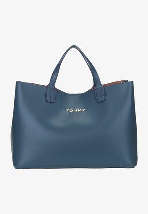 Handbag - charcoal blue