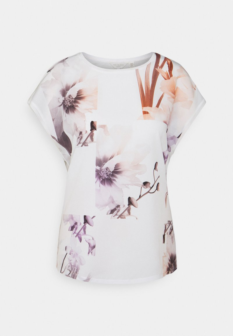 Ted Baker - LYLIE - Print T-shirt - white