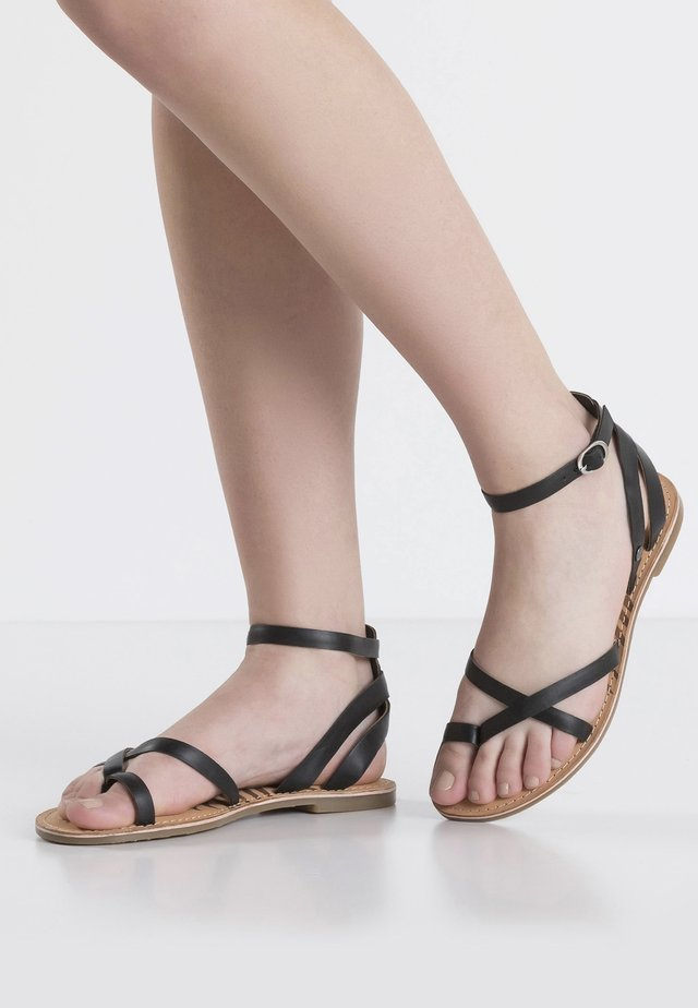 MARCH BASIC - Sandals - black