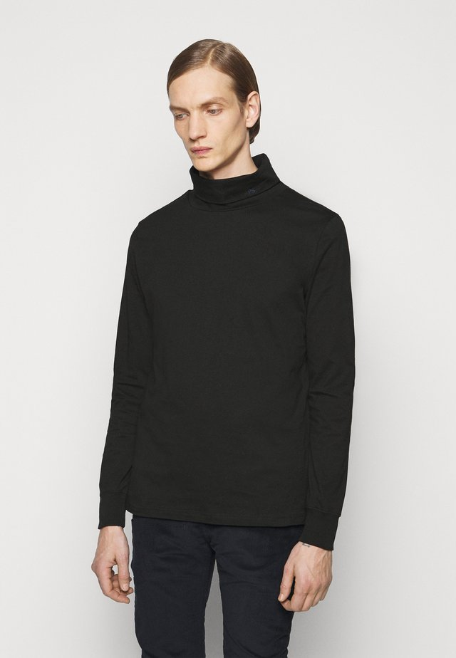 MENS ROLL NECK - Longsleeve - black