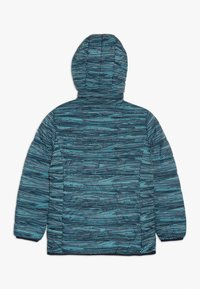 CMP - GIRL JACKET ZIP HOOD - Winter jacket - blue/curacao/gesso - 1