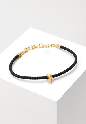 SKULL FRIENDSHIP BRACELET - Pulsera - gold-coloured