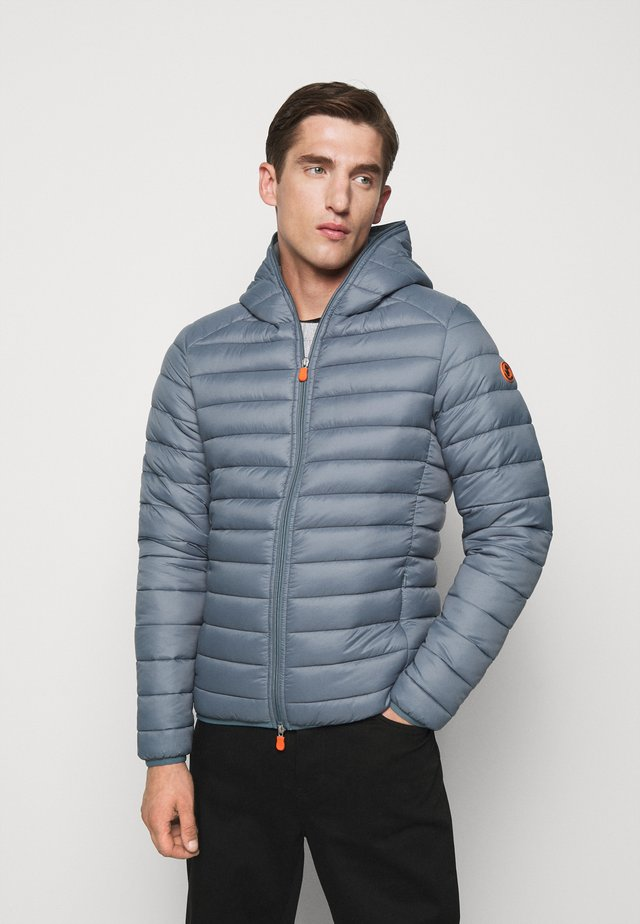 GIGAY - Down jacket - steel blue