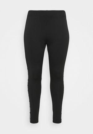 SKINNY TAPE - Leggings - Trousers - black