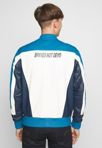 Diesel - L-MAY JACKET - Leather jacket - blue - 2