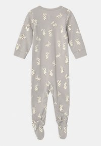 Lindex - FOOT RABBITS UNISEX - Sleep suit - light grey
