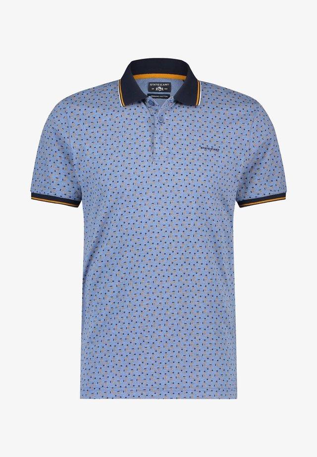 Poloshirt - grey blue/midnight