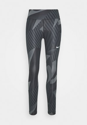 FAST 7/8 RUNWAY - Tights - black/black/reflective silver