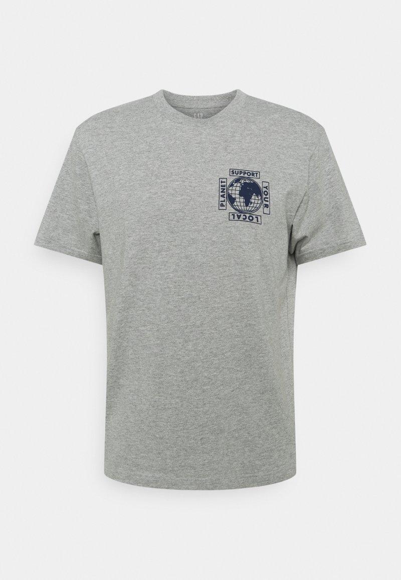 GAP - GRAPHIC  - T-shirt z nadrukiem - heather grey