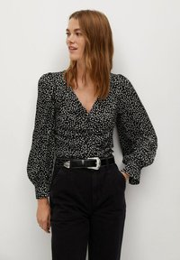Mango - RONY - Blouse - black - 0