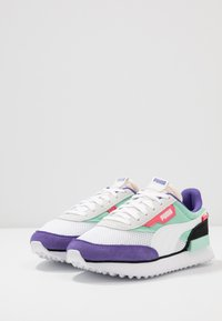 Puma - RIDER STREAM ON - Trainers - white/mist green/black - 3
