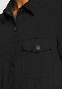 Monki - JAMIE DRESS - Denim dress - black dark - 5