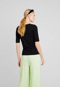 Opus - SANIKA - Basic T-shirt - black - 2