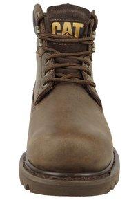 Cat Footwear - COLORADO - Šněrovací vysoké boty - chocolate - 3