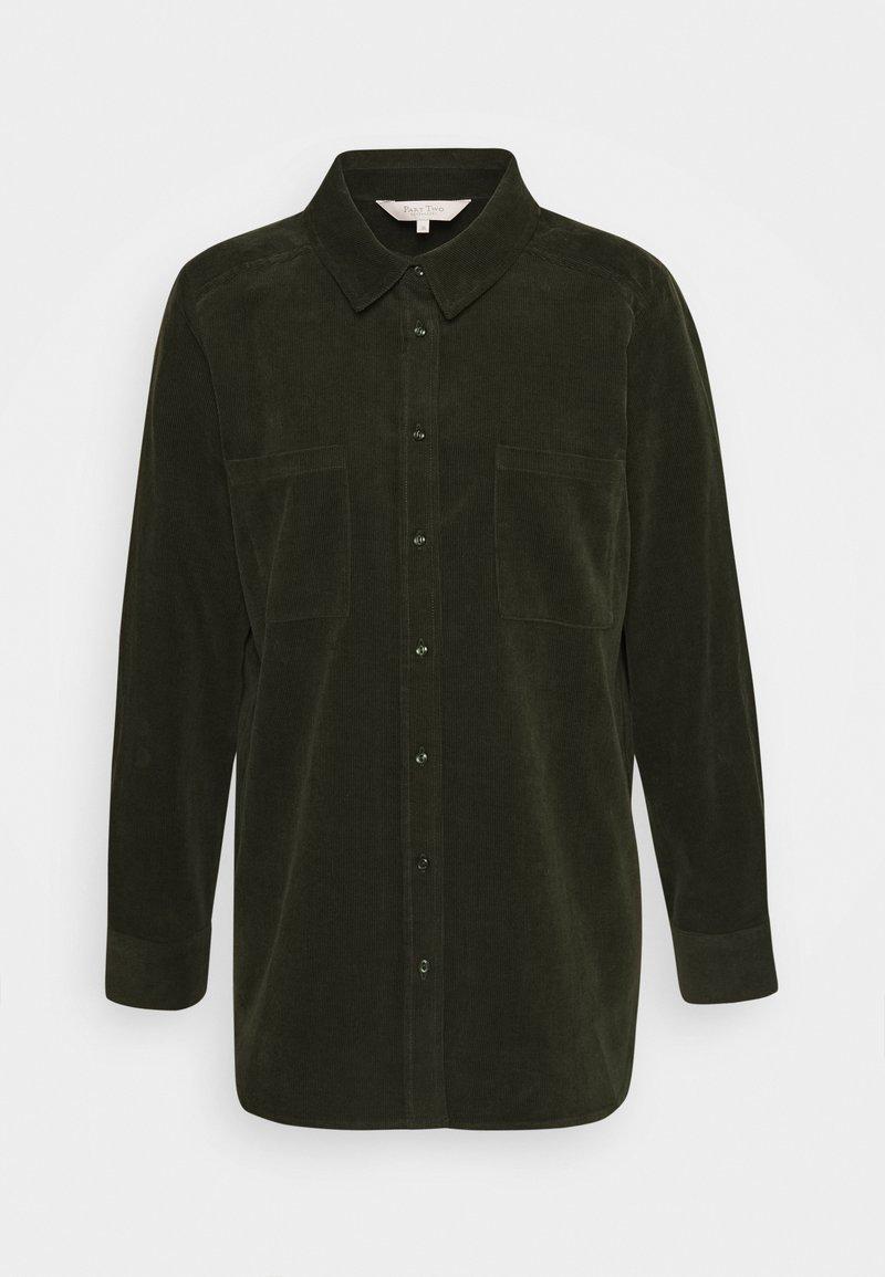 Part Two - ENIDA - Button-down blouse - rosin