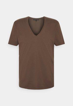 QUENTIN - T-shirt basic - braun