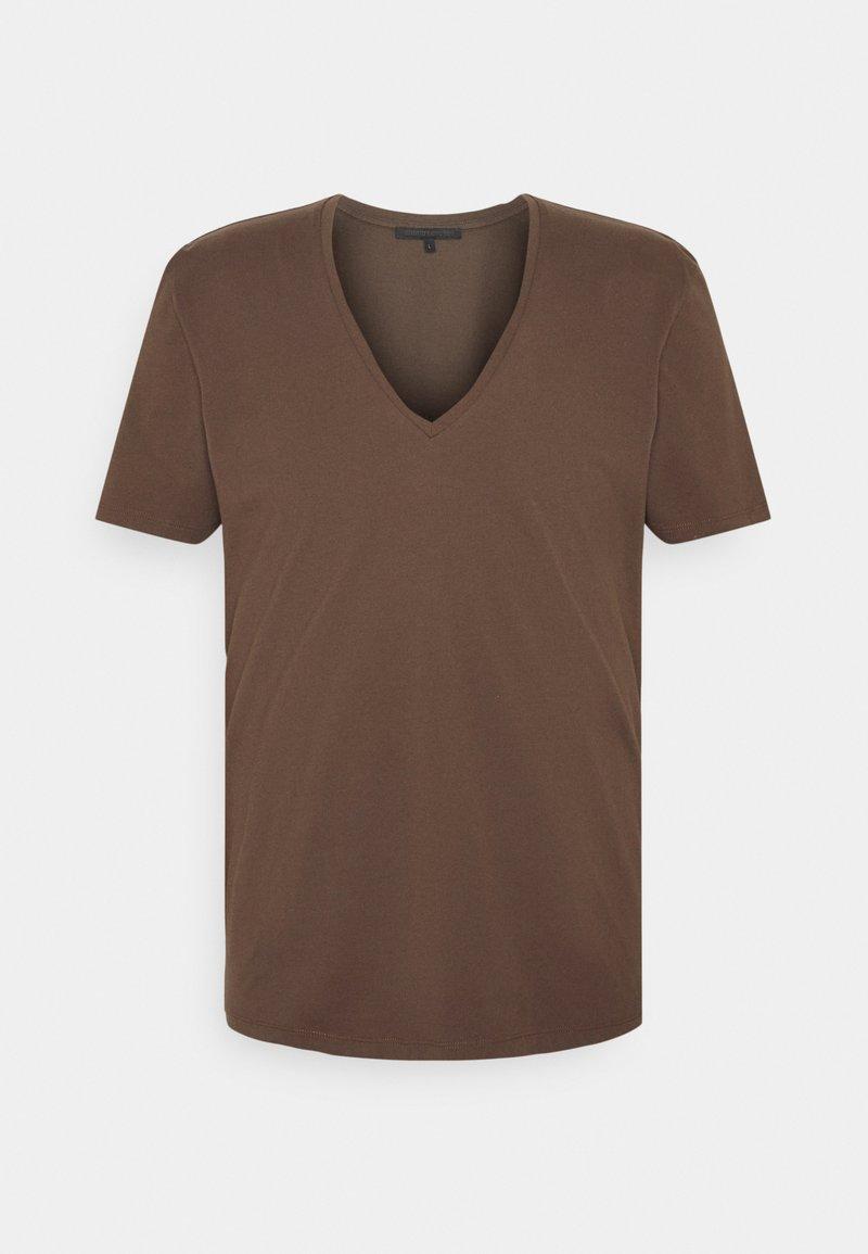 DRYKORN - QUENTIN - T-shirt - bas - braun