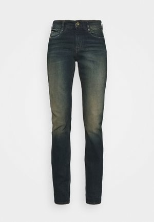 NOXER HIGH STRAIGHT  - Straight leg jeans - antic blight green