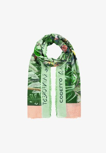 CHARITY SAVE THE RAINFOREST - Scarf - green