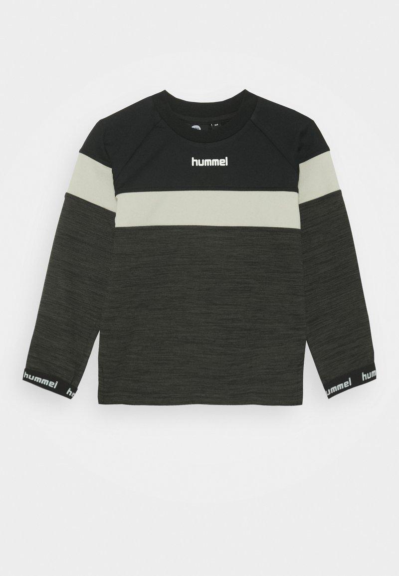 Hummel - HMLBRANDON - Sweatshirt - black olive