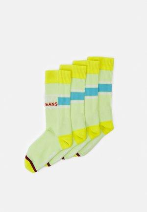 SOCK 2 PACK UNISEX  - Socks - lime