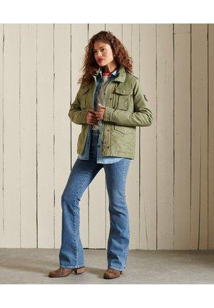 Outdoor jacket - vintage khaki
