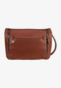 Piquadro - BLACK SQUARE - Wash bag - cuoio - 3
