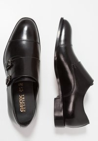 Geox - SAYMORE - Business loafers - black - 1
