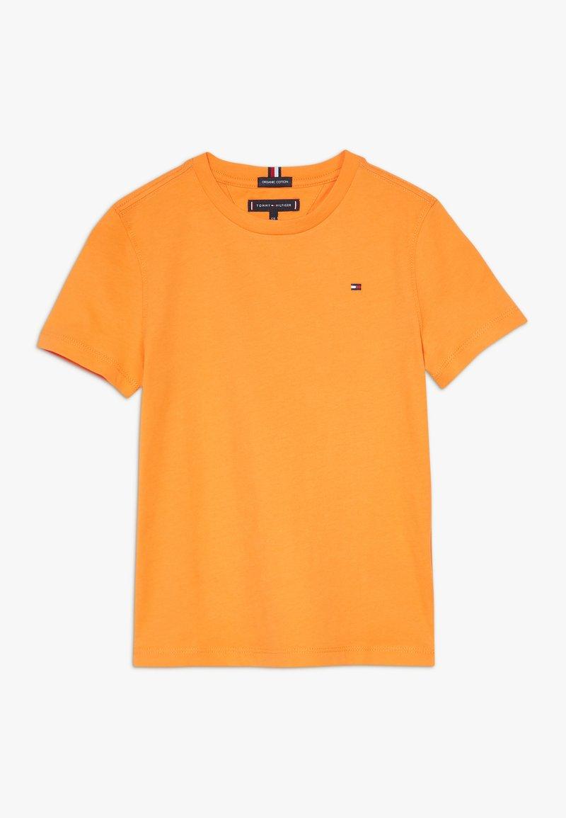 Tommy Hilfiger - ESSENTIAL TEE  - Jednoduché triko - orange