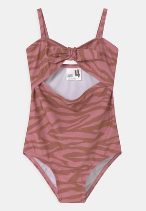 CUT OUT - Swimsuit - very berry