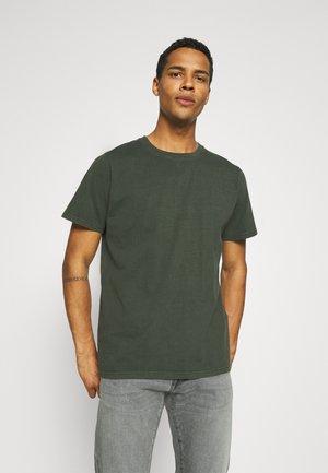 BAND TEE - Basic T-shirt - dark military