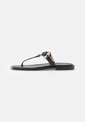 LALITA FLAT  - T-bar sandals - black