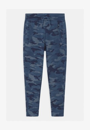 BOY COZY TECH  - Tracksuit bottoms - blue