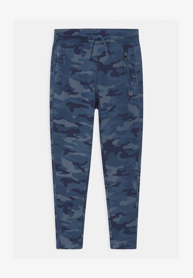 BOY COZY TECH  - Tracksuit bottoms - blue