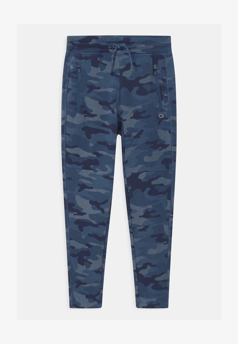 GAP - BOY COZY TECH  - Tracksuit bottoms - blue