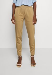 Marc O'Polo PURE - Trousers - mellow almond - 0
