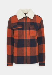 Only & Sons - ONSROSS NEW CHECK JACKET - Light jacket - bombay brown - 6