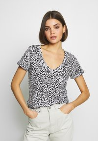 Cotton On - THE DEEP  - T-shirt basic - washed lilian grey marle - 0