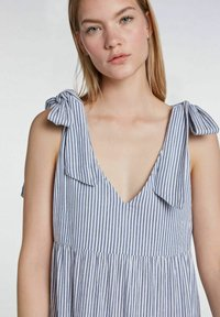 SET - Maxi dress - blue white - 3