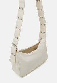 Weekday - SPACE MINI  - Across body bag - off white - 2