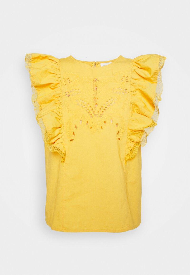 VILA PETITE - VICASANDRA - Print T-shirt - golden apricot