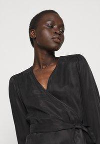 Bruuns Bazaar - SIANNA MONNIKA DRESS - Day dress - black - 4