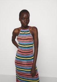 M Missoni - ABITO LUNGOSENZA MANICHE - Gebreide jurk - multi-coloured - 3